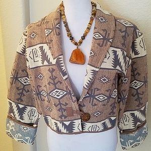 Flashback Cotton Tribal Jacket